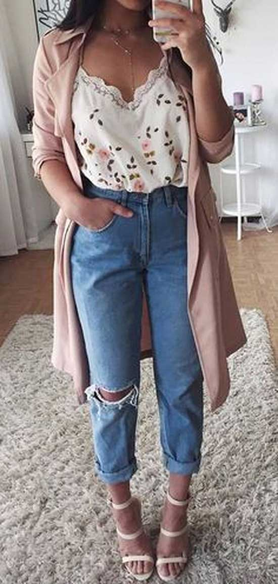 High Waist Jeans Outfit Ideas