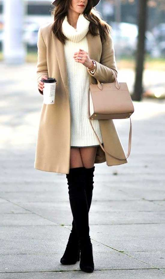 Elegant Winter Office Outfits for Women-12