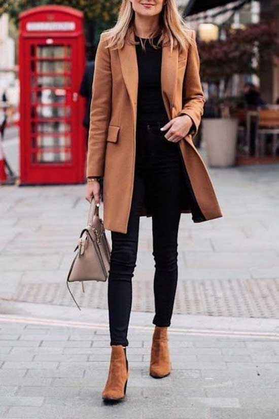 Chic Winter Office Outfits for Women-13
