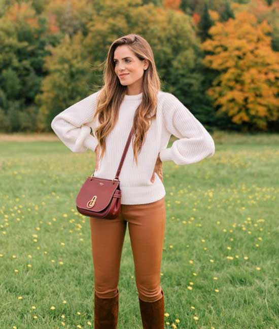 Cute Thanksgiving Leather Outfits-13