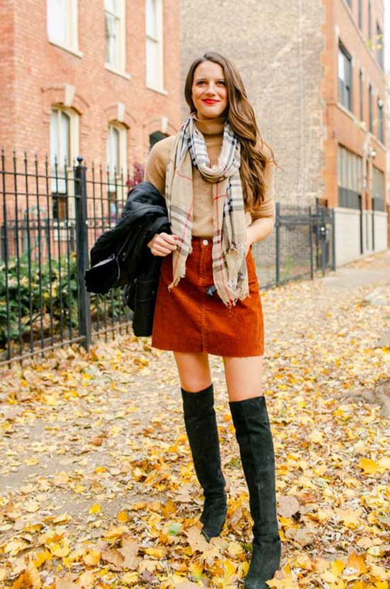 Classic Cute Thanksgiving Outfits-15