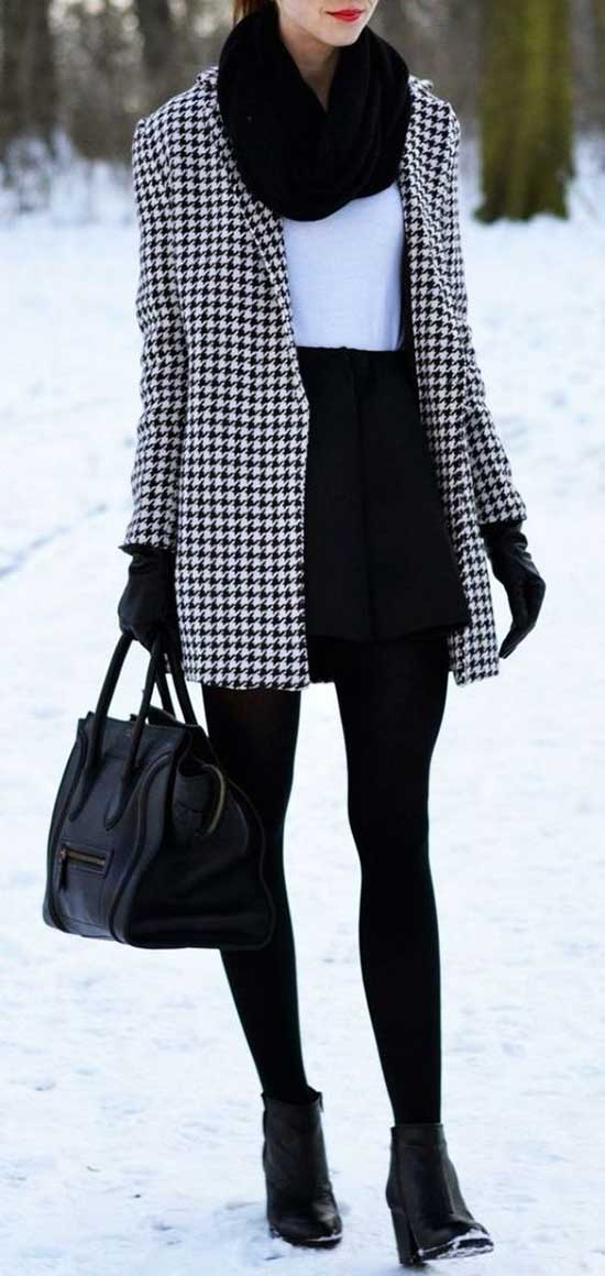 Latest Winter Office Outfits for Women-16