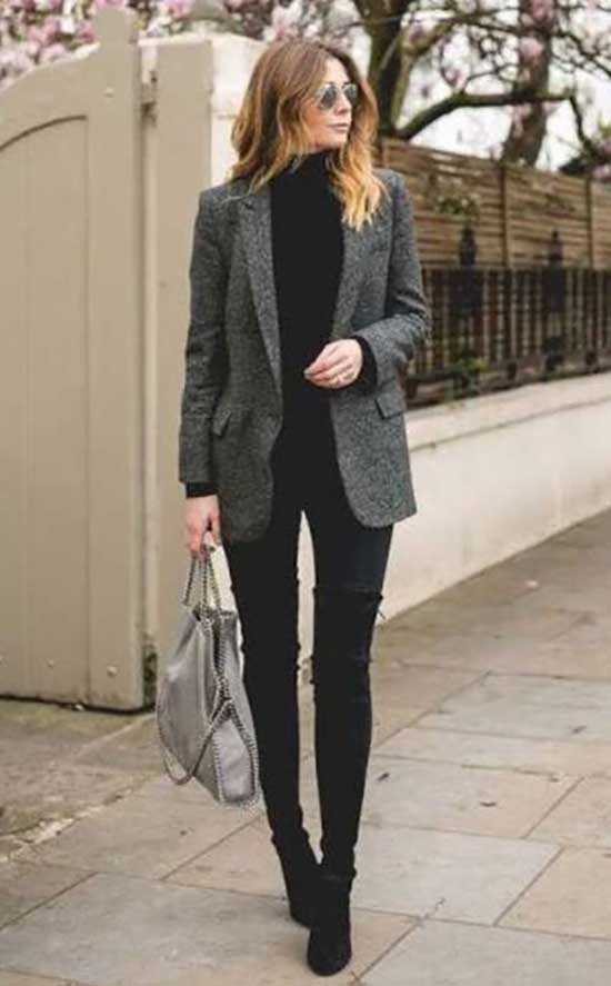 Winter Office Outfits for Women-17
