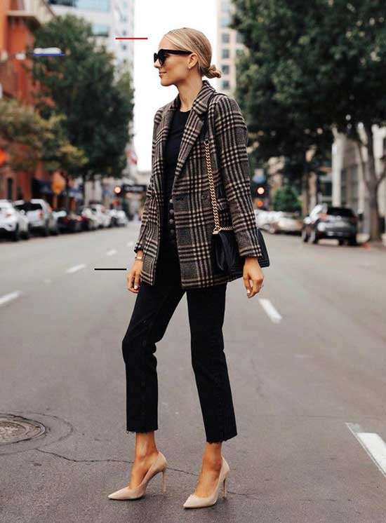 Trendy Winter Office Outfits for Women-9