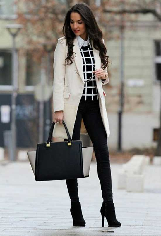 Womens Winter Office Outfits